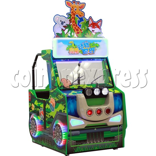 Zoo Explorer Jungle Theme Touch screen Redemption Game Machine 35318