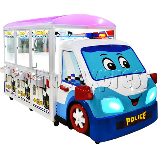 Police Car Crane Machine (6 players version) 35357