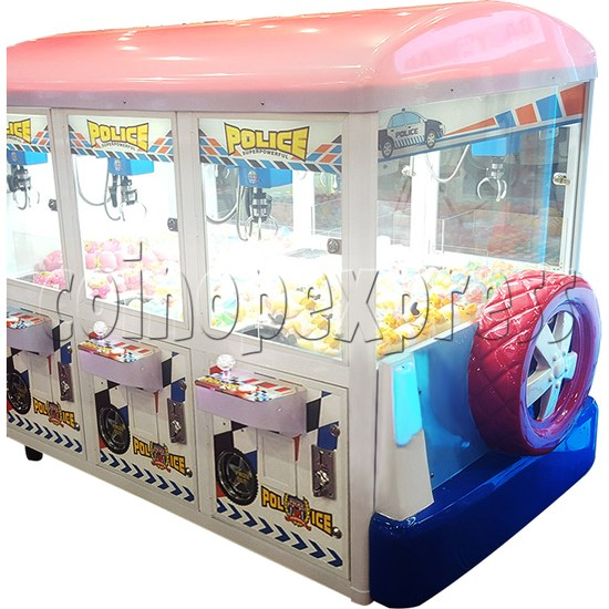 Police Car Crane Machine (6 players version) 35359
