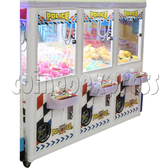 Police Car Crane Machine (6 players version) 35360