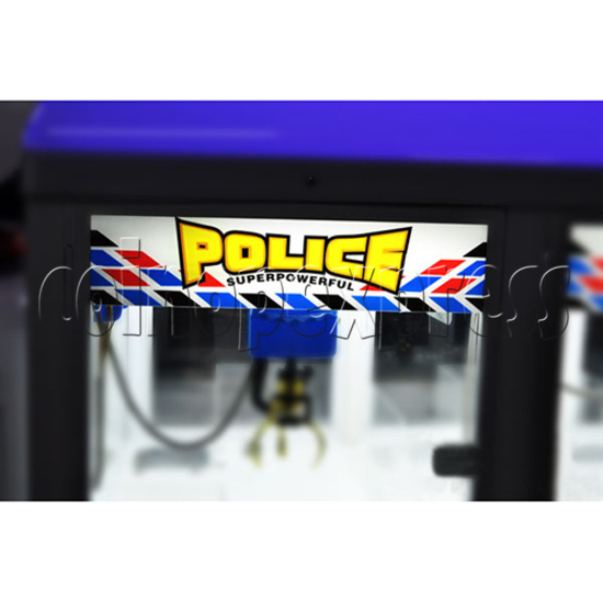 Police Car Crane Machine (6 players version) 35366