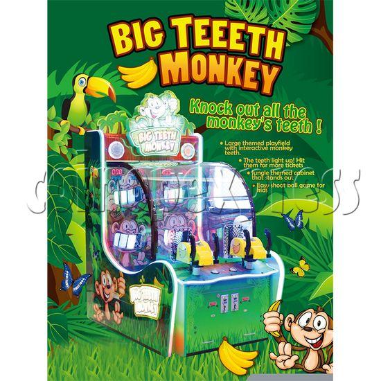 Big Teeth Monkey Shooting Game Ticket Redemption Machine - catalogue