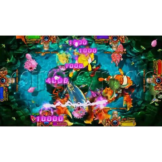 Ocean King 3: Turtles Revenge full game board kit - game play-2