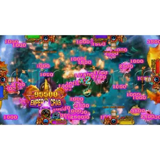 Ocean King 3: Turtles Revenge full game board kit - game play-4
