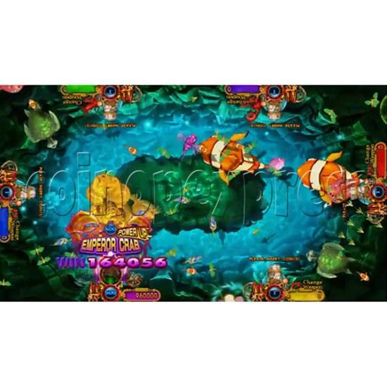 Ocean King 3: Turtles Revenge full game board kit - game play-5
