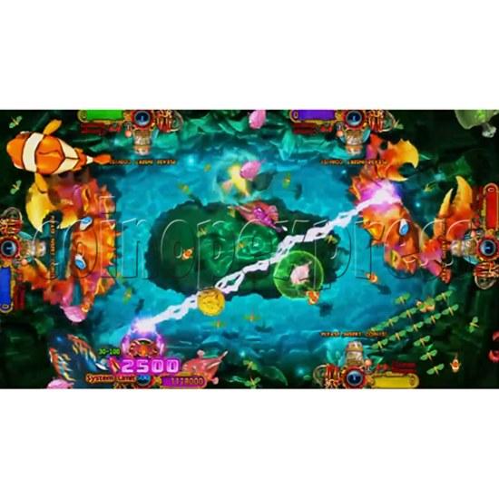 Ocean King 3: Turtles Revenge full game board kit - game play-6