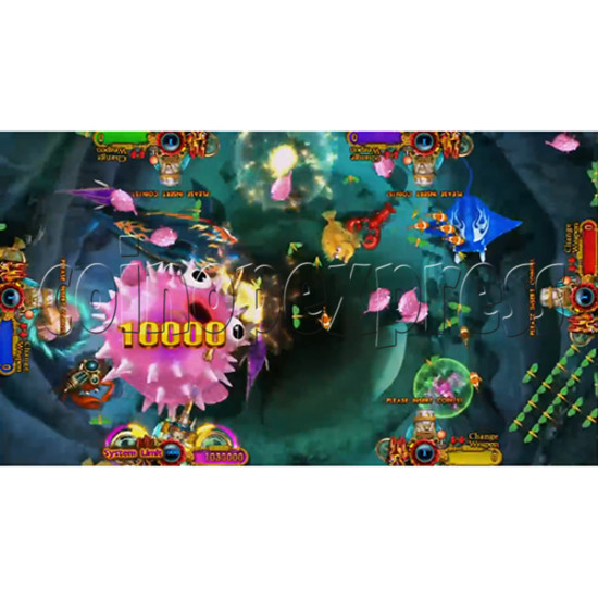 Ocean King 3: Turtles Revenge full game board kit - game play-8