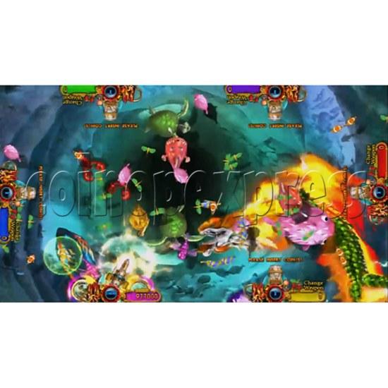 Ocean King 3: Turtles Revenge full game board kit - game play-9