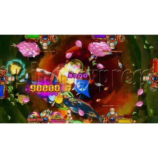 Ocean King 3: Turtles Revenge full game board kit - game play-10