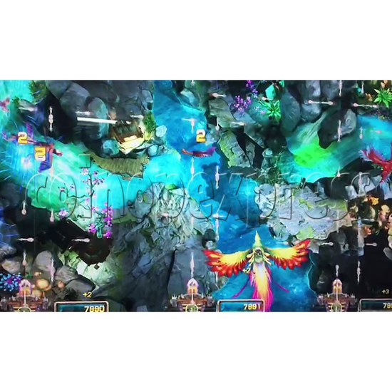 The Lost Dragon Fish Game Full Game board kit - game play-1
