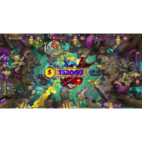 The Lost Dragon Fish Game Full Game board kit - game play-2