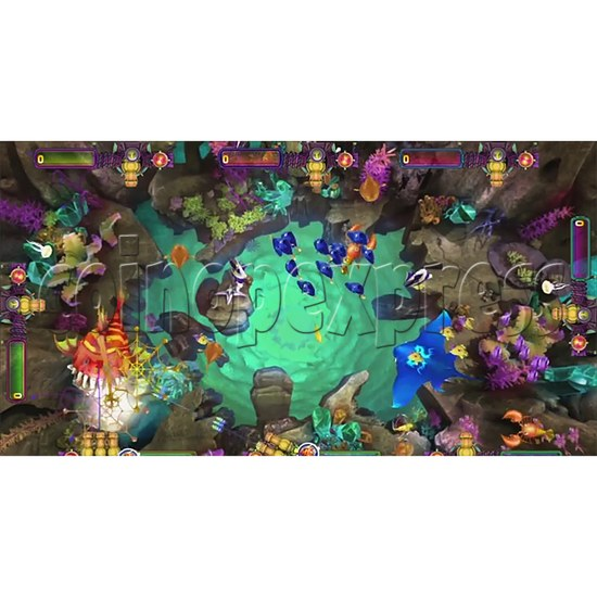 The Lost Dragon Fish Game Full Game board kit - game play-3