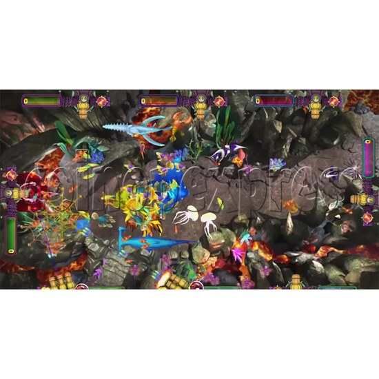 The Lost Dragon Fish Game Full Game board kit - game play-4