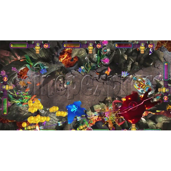 The Lost Dragon Fish Game Full Game board kit - game play-5