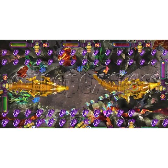 The Lost Dragon Fish Game Full Game board kit - game play-6