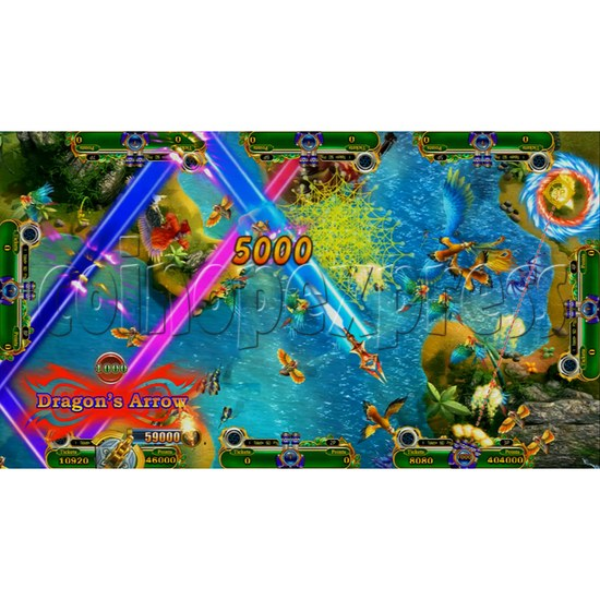Mystic Dragon 2 Redemption Arcade Game Full Gameboard Kit-game play-7