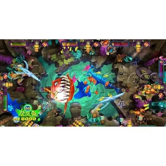 Deep Ocean Fish Hunting Game board kit - Game Play- 5