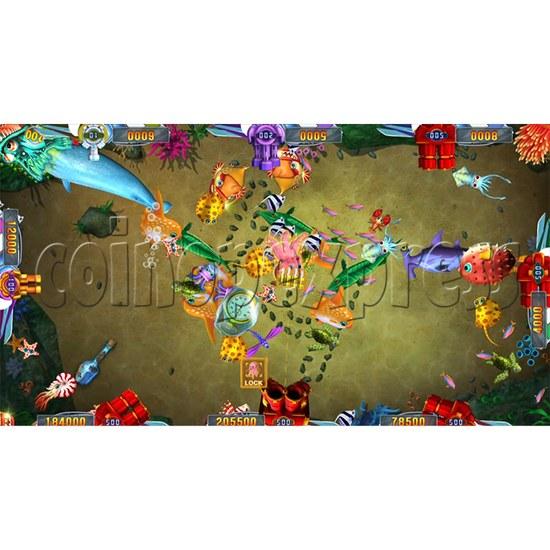 Seafood Paradise 2 Plus Fishing Game Full Game Board Kit - game play-1