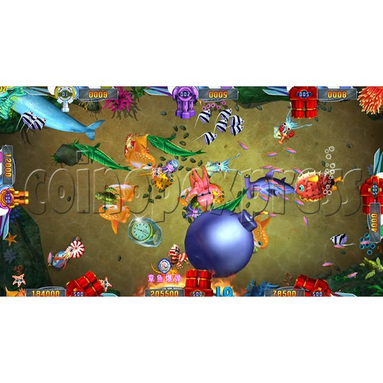 Seafood Paradise 2 Plus Fishing Game Full Game Board Kit - game play-2
