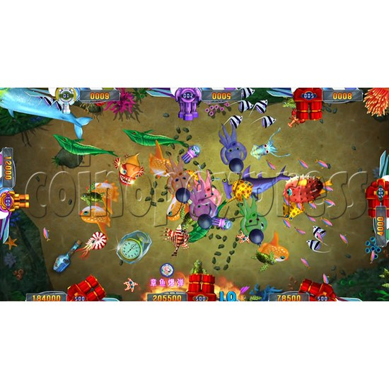 Seafood Paradise 2 Plus Fishing Game Full Game Board Kit - game play-3