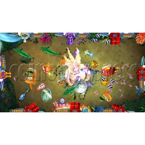 Seafood Paradise 2 Plus Fishing Game Full Game Board Kit - game play-4