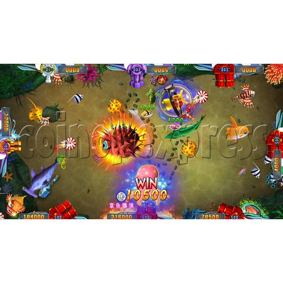 Seafood Paradise 2 Plus Fishing Game Full Game Board Kit - game play-7