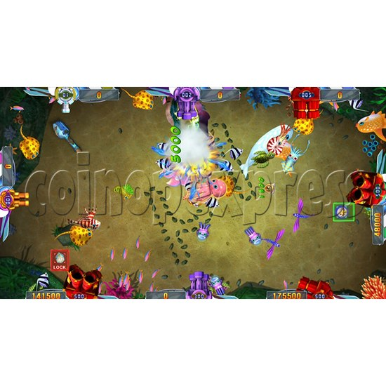 Seafood Paradise 2 Plus Fishing Game Full Game Board Kit - game play-11