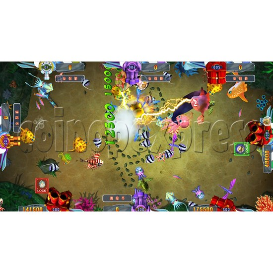 Seafood Paradise 2 Plus Fishing Game Full Game Board Kit - game play-12
