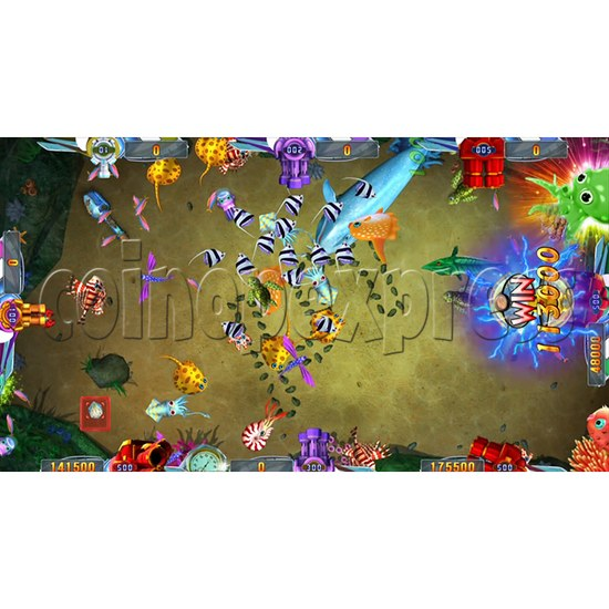 Seafood Paradise 2 Plus Fishing Game Full Game Board Kit - game play-14