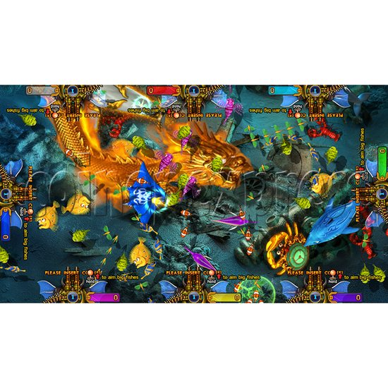 King of Treasures Plus Fish Hunter Game Full Game Board Kit China Release Version - game play-13
