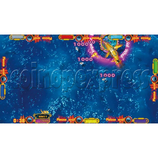 Ocean King 2 Thunder Dragon Video Redemption Fish Hunter Full Game Board Kit China Release Version - game play-3