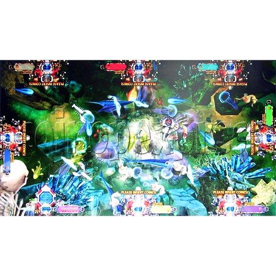 Deep Sea Hunter Fish Game Full Game Board Kit - Game Play -3