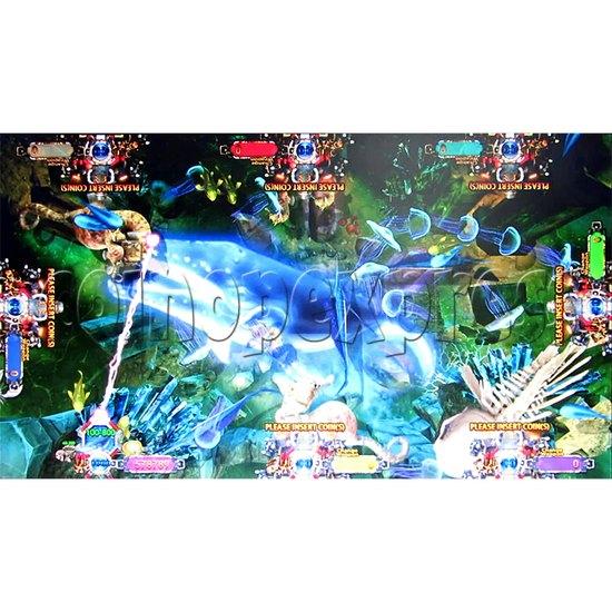 Deep Sea Hunter Fish Game Full Game Board Kit - Game Play -6