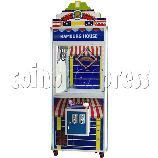 London style Coin operated Toy Catcher Machine 35672