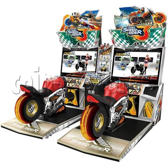 Speed Rider 3 Twin Racing Machine 35717