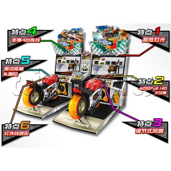 Speed Rider 3 Twin Racing Machine 35718