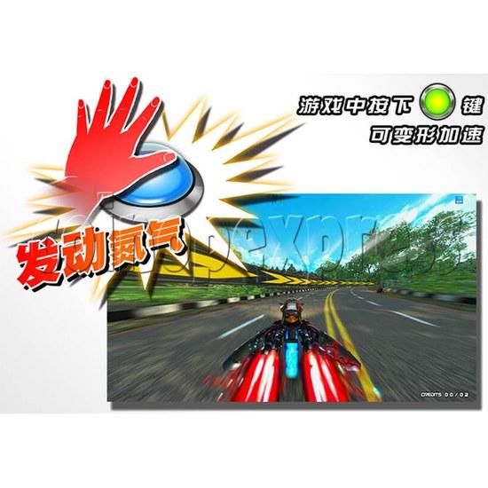 Speed Rider 3 Twin Racing Machine 35723