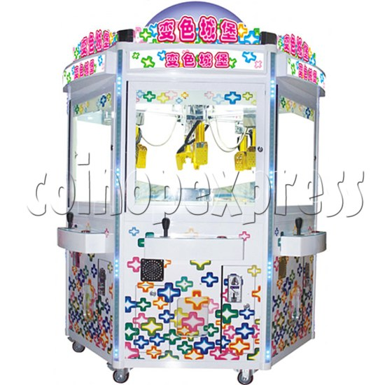 Mini Giant Fun Shovel Crane Machine (6 players)  35744