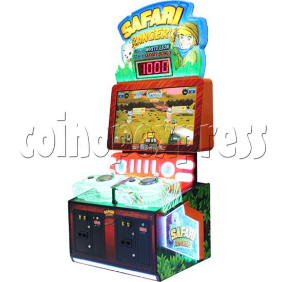 Safari Ranger 2 Player Ticket Redemption Game Machine SD 35801