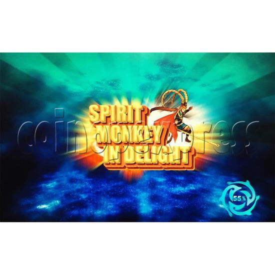 Spirit Monkey In Delight Fishing Game Board Kit - Game logo