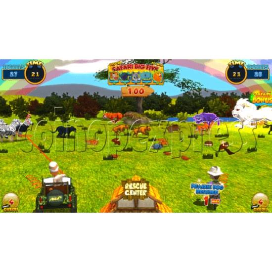 Safari Ranger 2 Player Ticket Redemption Game Machine SD 35869