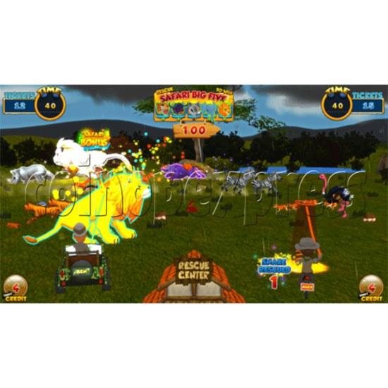 Safari Ranger 2 Player Ticket Redemption Game Machine SD 35870