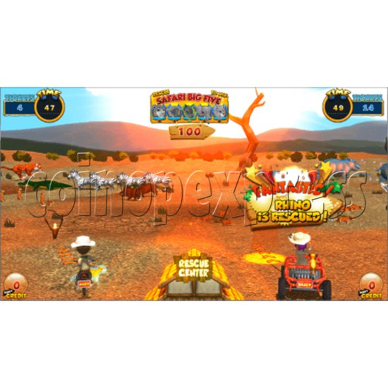 Safari Ranger 2 Player Ticket Redemption Game Machine SD 35871