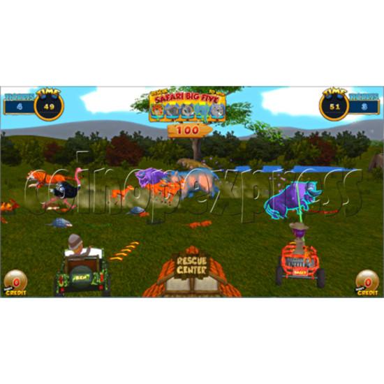 Safari Ranger 2 Player Ticket Redemption Game Machine SD 35872
