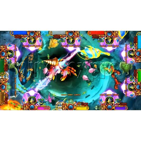 Ocean King 3 Plus Crab Avengers Video Fish Hunter Full Game Board kit - screen display - 2