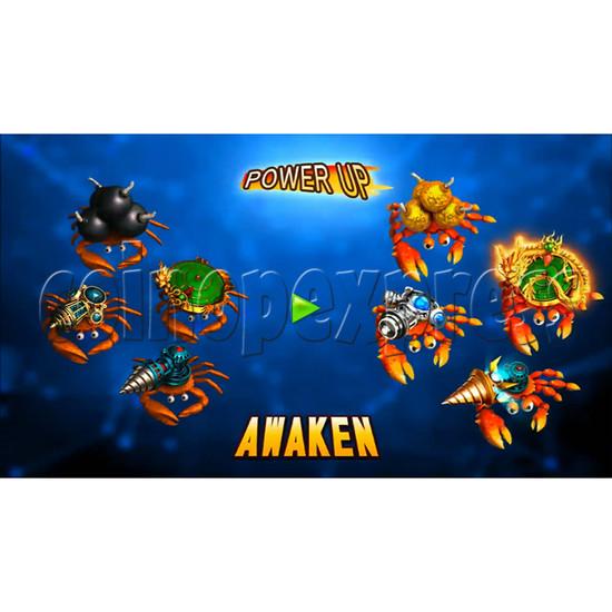Ocean King 3 Plus Crab Avengers Video Fish Hunter Full Game Board kit - screen display - 3