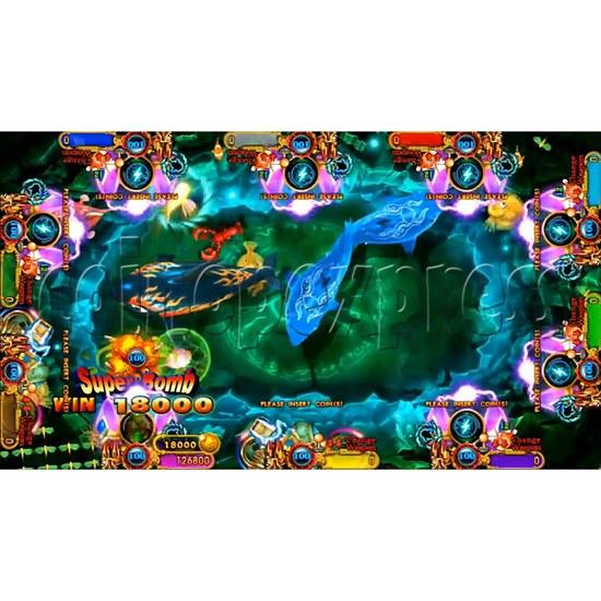 Ocean King 3 Plus Crab Avengers Video Fish Hunter Full Game Board kit - screen display - 4