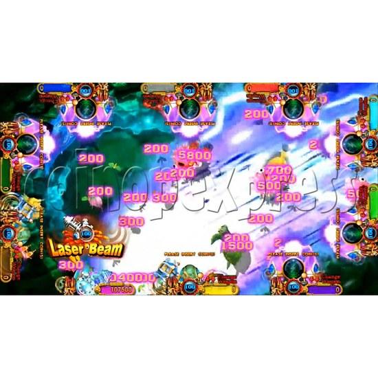 Ocean King 3 Plus Crab Avengers Video Fish Hunter Full Game Board kit - screen display - 5