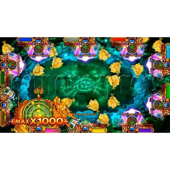 Ocean King 3 Plus Crab Avengers Video Fish Hunter Full Game Board kit - screen display - 7