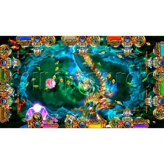Ocean King 3 Plus Crab Avengers Video Fish Hunter Full Game Board kit - screen display - 12